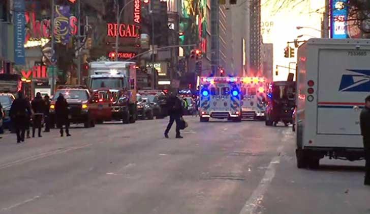 Alerta en Nueva York por explosión en estación de buses