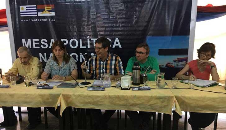 """Javier Miranda: """"La oposición está en campaña desde el 1º de marzo del 2015""""."""