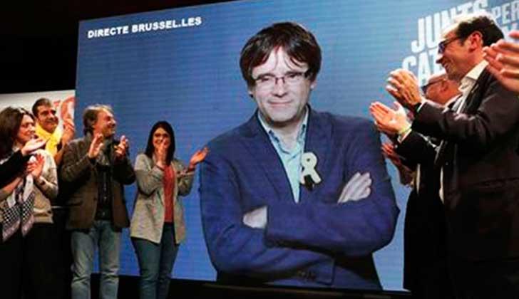 Juez belga cierra el procedimiento de extradición contra Puigdemont