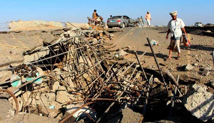 ONU: Ataques saudíes en Yemen matan 109 personas en 10 días  . Foto: Hispan TV