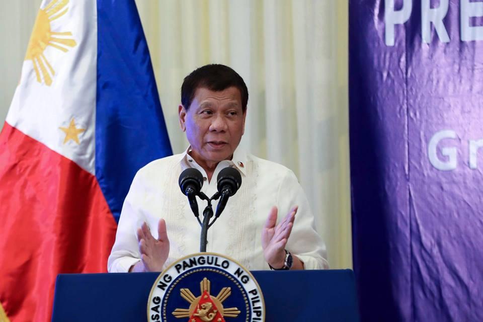 Foto: Facebook Rodrigo Duterte