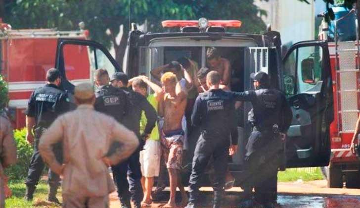Un motín carcelario dejó 9 muertos, 14 heridos y  77 prófugos en Brasil.