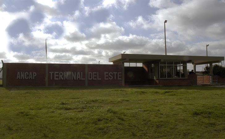 Terminal del Este de ANCAP / Foto: Presidencia