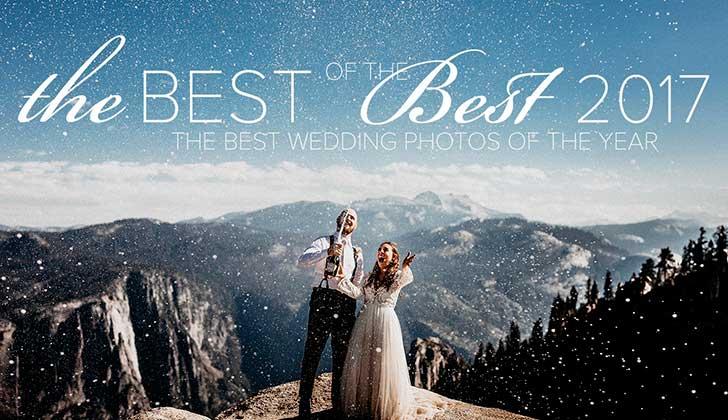 Las 50 mejores fotos de boda del 2017.