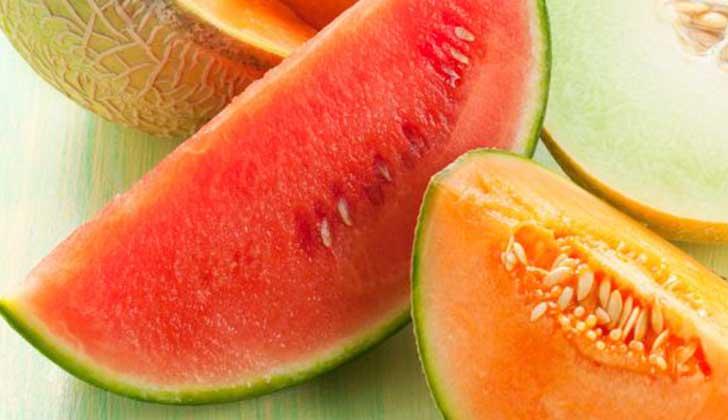 Cinco frutas ideales para consumir en verano.
