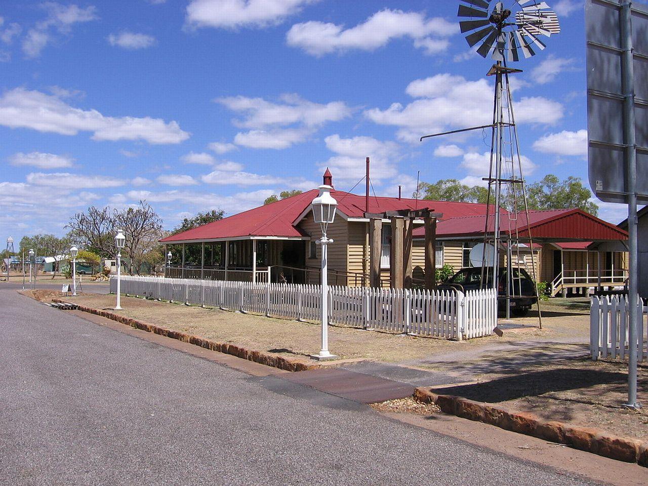 Una casa del soleado pueblo de Georgetown, Queensland. Foto: Gary Colquhoun