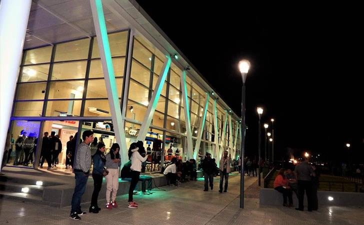 Inauguración de Terminal de Rocha / Foto: Mabel Silvera