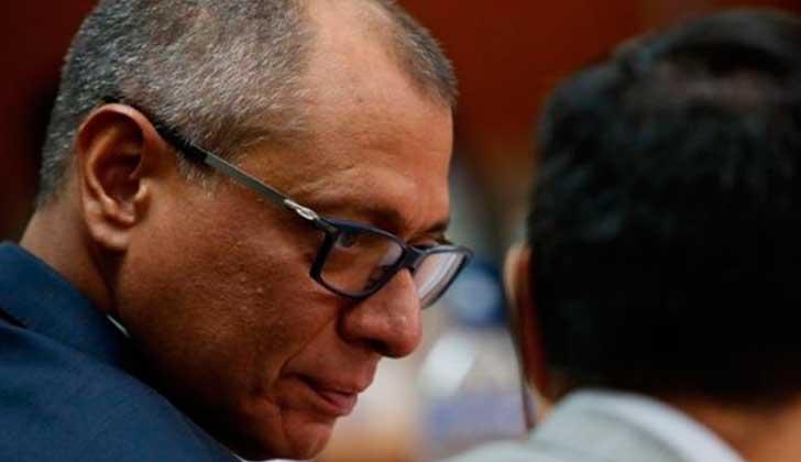 """Venció el periodo de """"ausencia temporal"""" del cargo de vicerpesidente para Jorge Glas."""