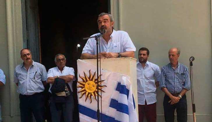 """Larrañaga propone """"un gran acuerdo"""" de la oposición pelear la presidencia al FA."""