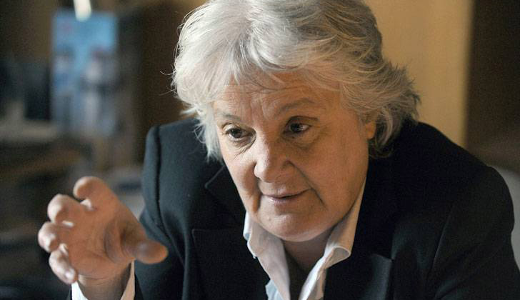 Lucía Topolansky, vicepresidenta de la República
