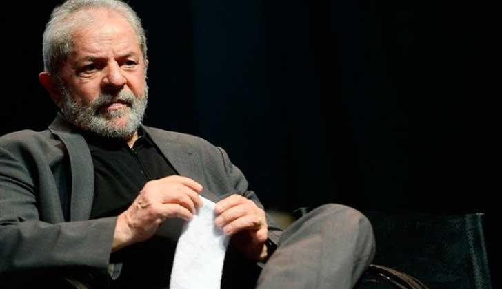 La justicia brasileña ratifica la condena contra Lula da Silva y complica su candidatura . Foto: Brasil de Fato