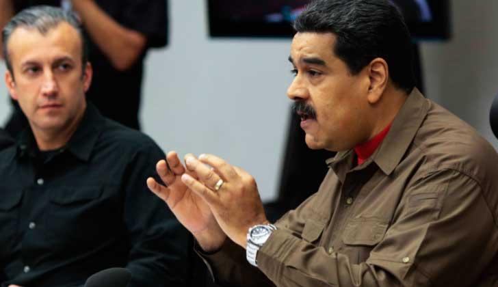 """Maduro rechazó nuevas sanciones de EE.UU,: """"Tengo la paciencia al límite""""."""