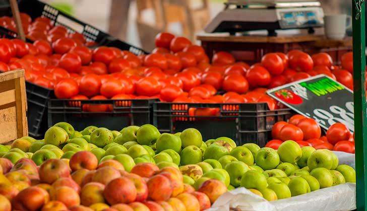 Comer manzanas y tomates podría favorecer la recuperación pulmonar  de los fumadores. Foto: Pixabay