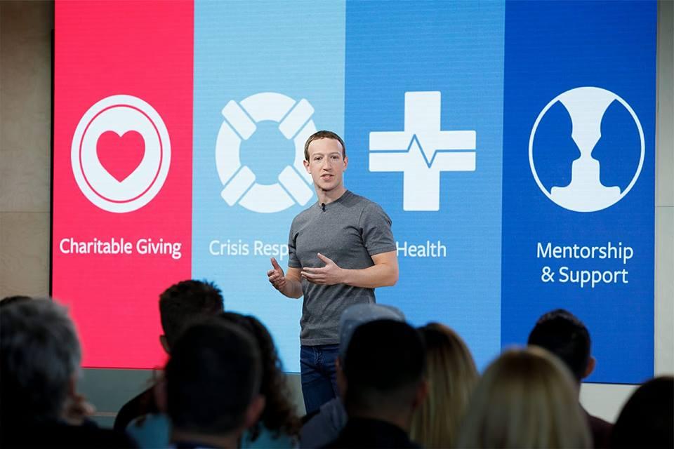 Mark Zuckerberg, fundador de Facebook. Foto: Facebook/Zuck