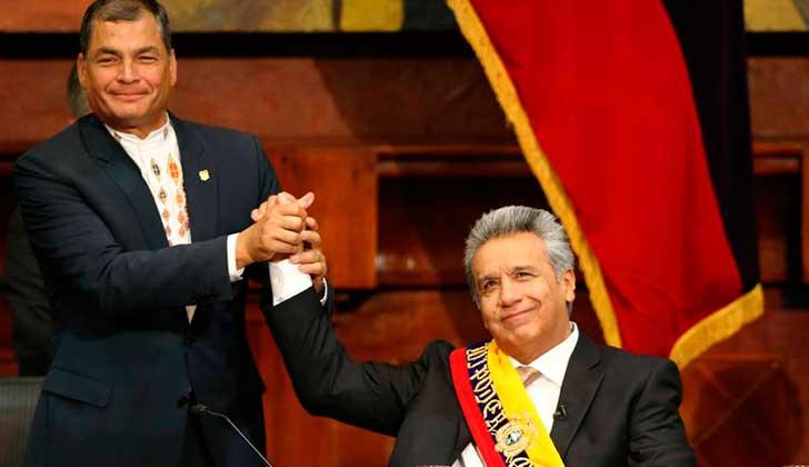 Rafael Correa fue agredido por funcionarios del gobierno de Lenin Moreno — Ecuador