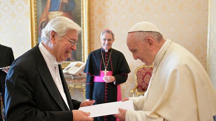El papa Francisco confirmó que desclasificará los archivos del Vaticano sobre la dictadura . Foto:L'Osservatore Romano