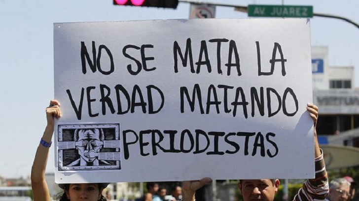 México es el país con más periodistas asesinados en 2017.