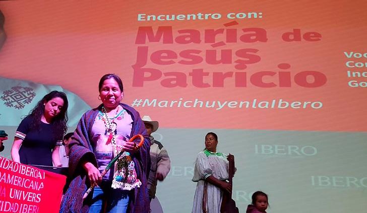 'Marichuy' sufre fractura de brazo tras accidente vehicular