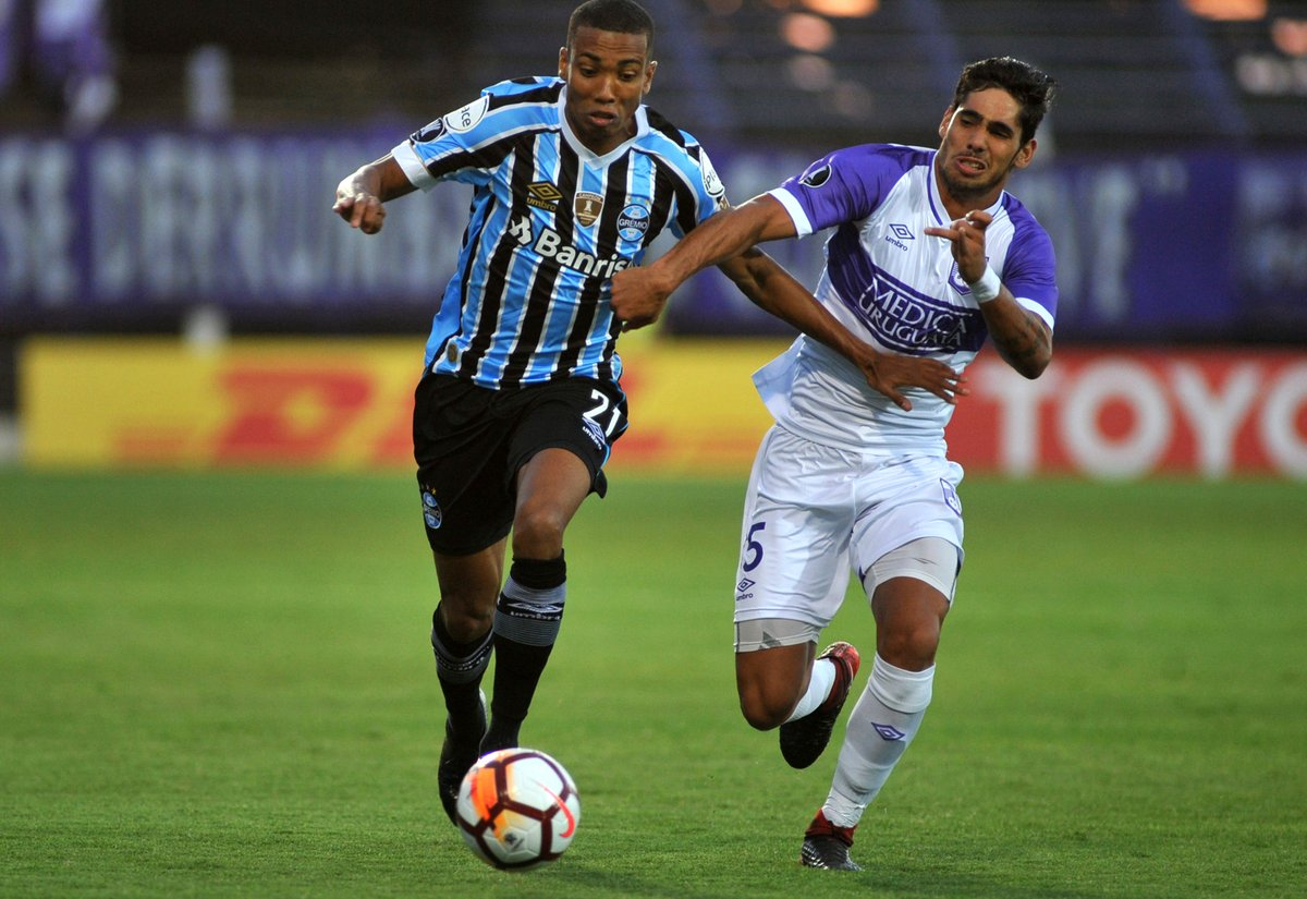 Defensor Sporting empató 1-1 con Gremio por la Copa Libertadores 2018