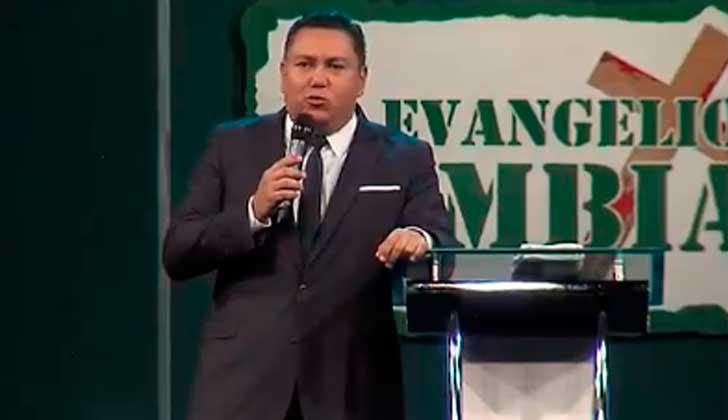 Pastor evagélico Javier Bertucci anunció su candidatura presidencial