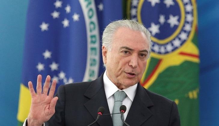 Temer niega que intervención militar en Río sea por motivos electorales.