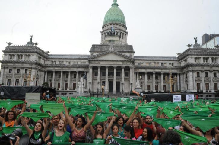 #AbortoLegalYa: miles en Argentina se movilizaron por el derecho a decidir.