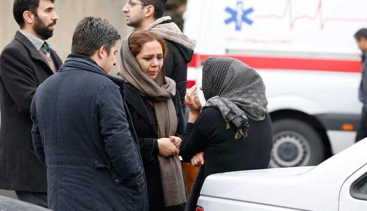 Irán: 66 personas fallecieron al estrellarse su avión contra una cordillera. Foto: Hispan TV