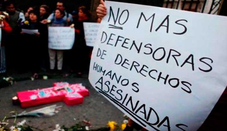 Líderes sociales siguen siendo asesinados en Colombia .