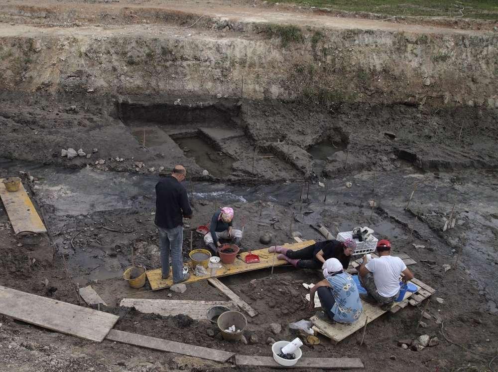 El sitio de Poggetti Vecchi en Toscana, Italia, en donde se continúa excavando. Foto: PNAS