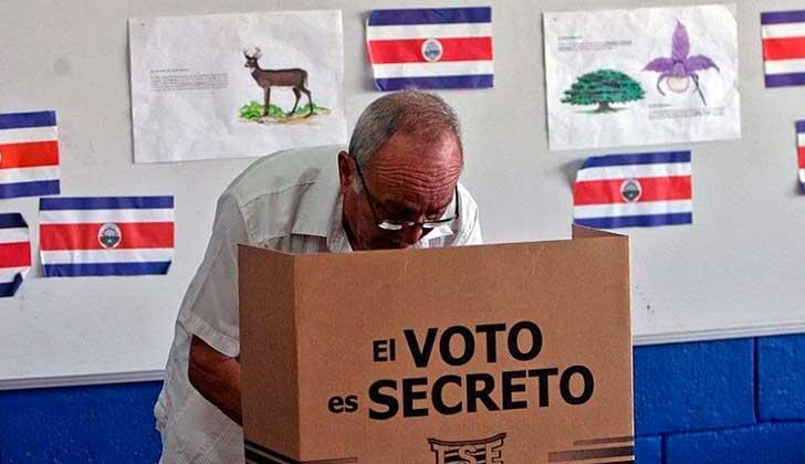 Se celebran elecciones en Costa Rica con la mirada puesta en los indecisos . Foto. El Mundo Costa Rica