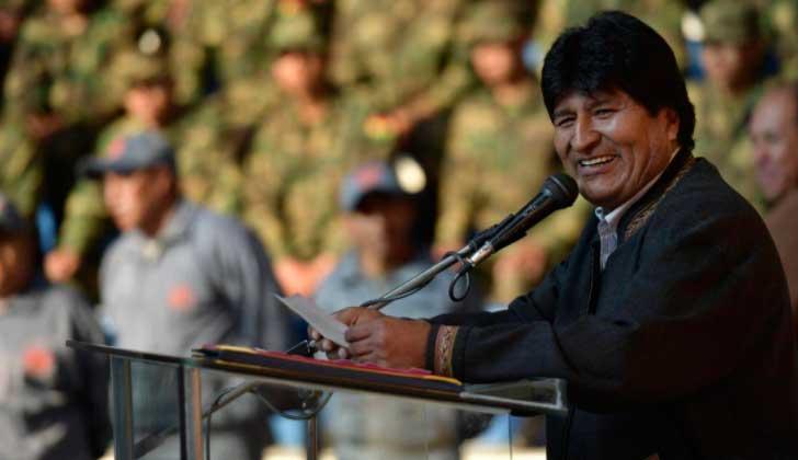"""Evo Morales: """"Quieren convertir Cumbre de las Américas en un instrumento de golpismo contra Venezuela""""."""