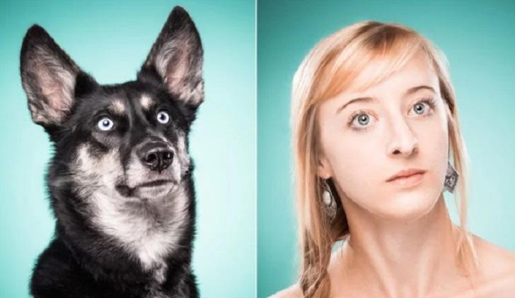 """""""The Dog People"""", el proyecto fotográfico que muestra la conexión entre las expresiones de los perros y los humanos."""