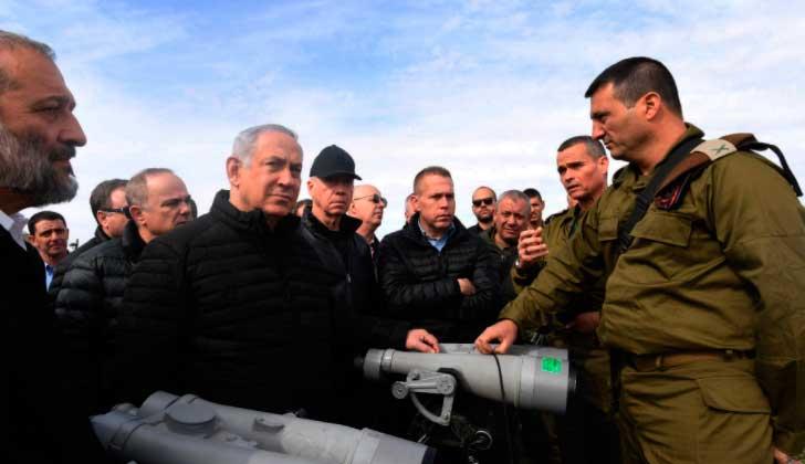 """Netanyahu a Guterres: """"Los altos del Golán permanecerán en manos de Israel para siempre""""."""