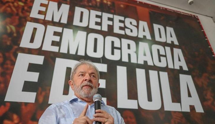 Asegura Lula da Silva no tener miedo al lanzar candidatura en Brasil