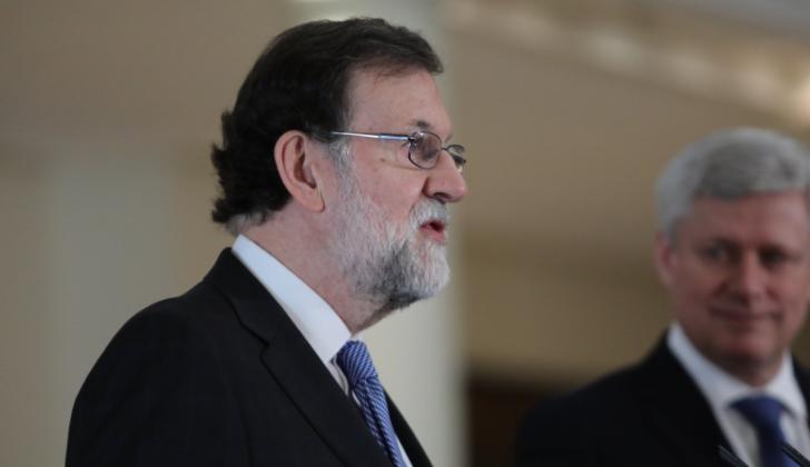 """Rajoy pide a ERC que """"deje de pensar en Puigdemont"""" y desbloquee la situación política en Cataluña"""