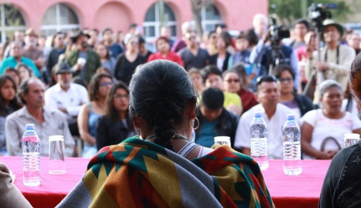 Movimiento indígena de Marichuy descarta respaldar a AMLO.