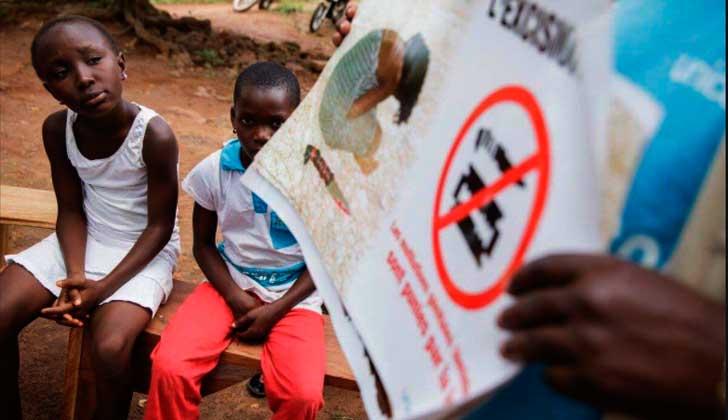 La ONU y la OMS piden tolerancia cero con mutilación genital femenina.