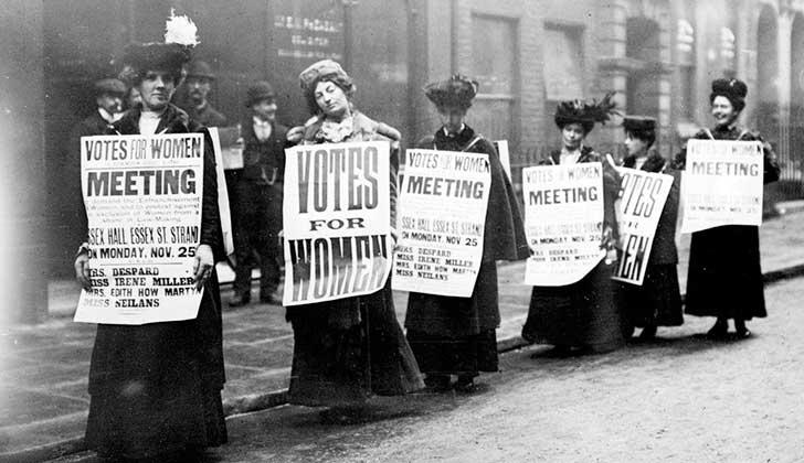 Se cumplen 100 años de que las mujeres británicas conquistaron el derecho a voto.