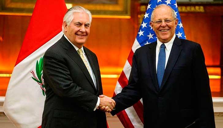 EE.UU. agradece al Perú por liderazgo respecto al caso de Venezuela. Foto: Presidencia Perú