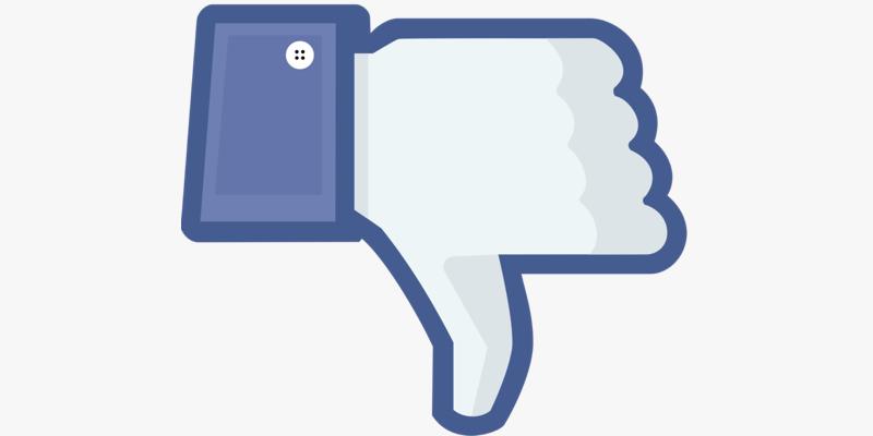 Facebook trabaja en el botón de 'no me gusta'