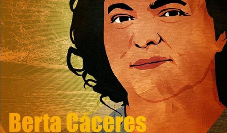 """A dos años del asesinato de Berta Cáceres su familia denuncia """"criminalización y persecución""""."""