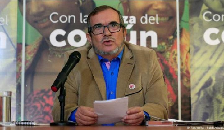 """Londoño mantiene candidatura a la Presidencia de Colombia bajo la bandera de la """"reconciliación""""."""