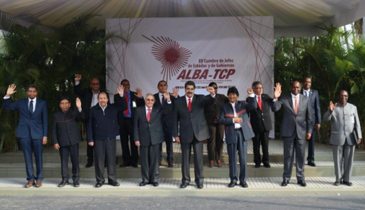 Los países del ALBA defendieron la participación de Venezuela en la Cumbre de las Américas.