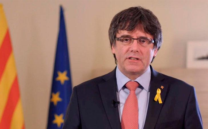 Carles Puigdemont, ex presidente de la Generalitat de Cataluña / Foto: Telegraph
