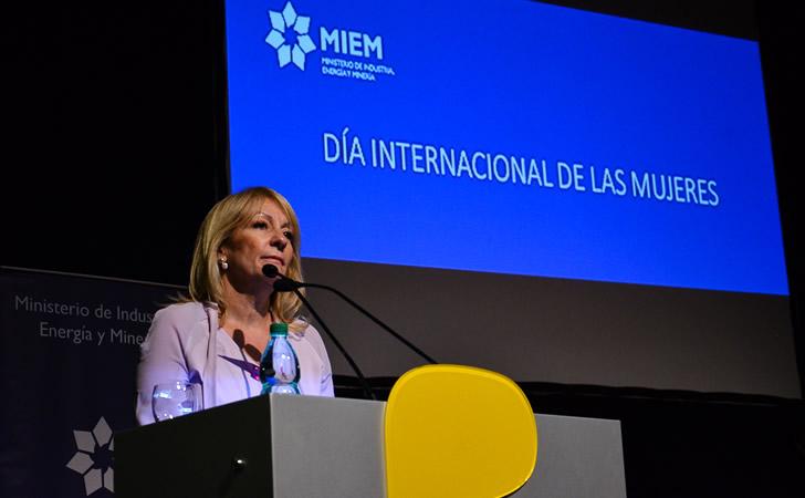 Ing. Carolina Cosse, Ministra de Industria / Foto: Antel