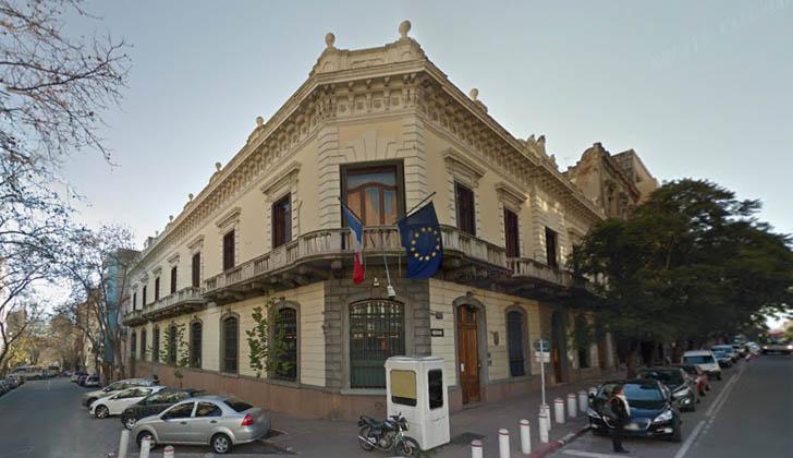embajada francia