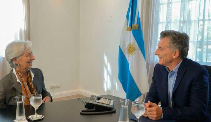 """Directora del FMI: """"Los dos primeros años del gobierno de Macri han sido asombrosos""""."""