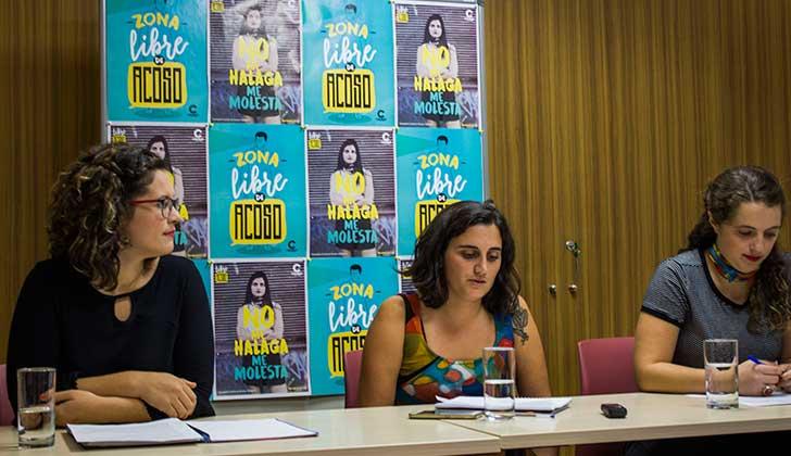 """Colectivo Catalejo lanzó """"Libre de acoso"""" , una campaña contra el acoso callejero."""