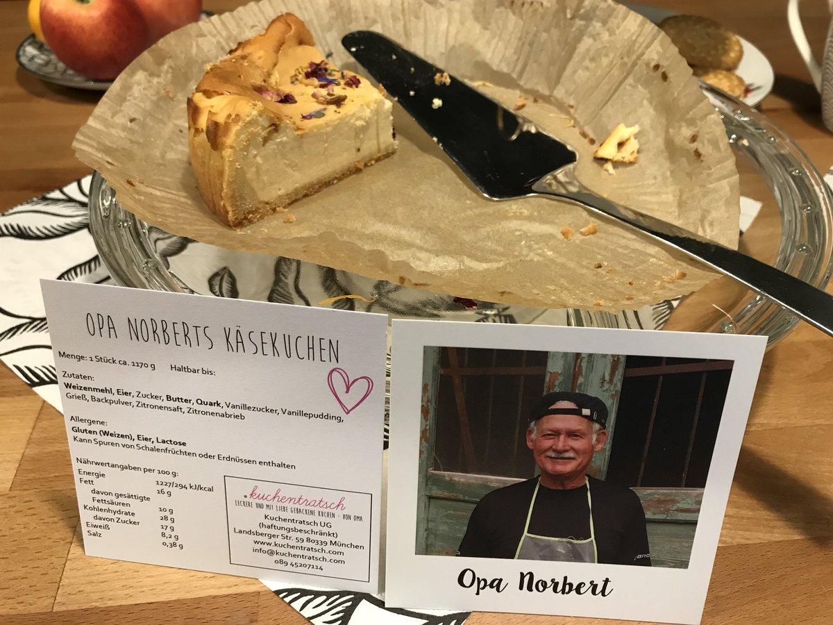 Las tortas vienen acompañadas por una foto del pastelero que la hizo. Foto: Twitter/CurlyPeter