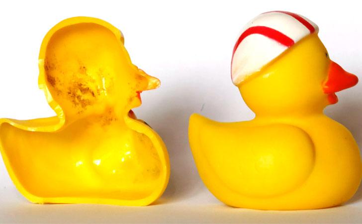 Los juguetes de goma para el ba o pueden ser muy perjudiciales para la vida de tu hij - Patitos de goma para el bano ...